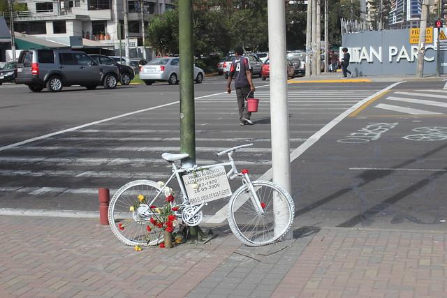 Ghost Bike em Quito