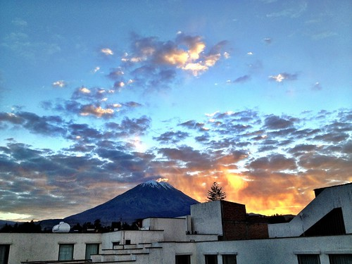 morning travel peru nature weather clouds sunrise volcano moments cityscape arequipa hdr iphone iphotooriginal virtualphotographers