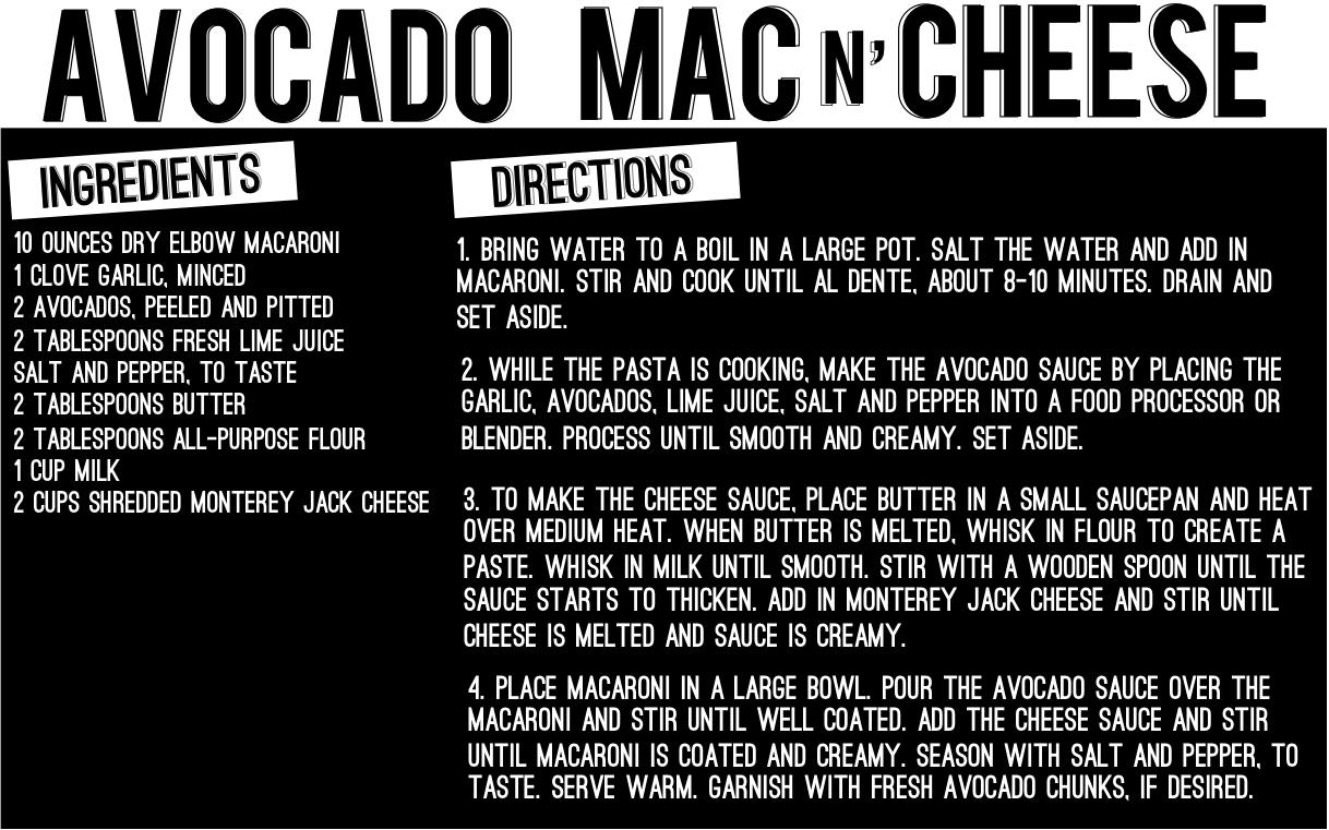 avocadomacn'cheeserecipe