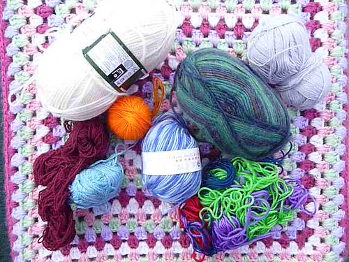 Yarn Donation 'SnazzyB' (RAV) Thank you very much!