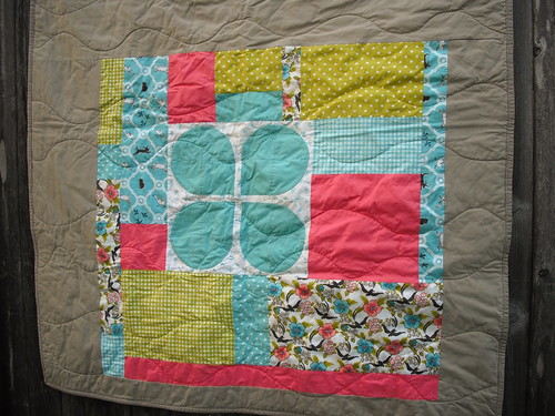Sarah's Baby Quilt - Piecing by jenniferworthen