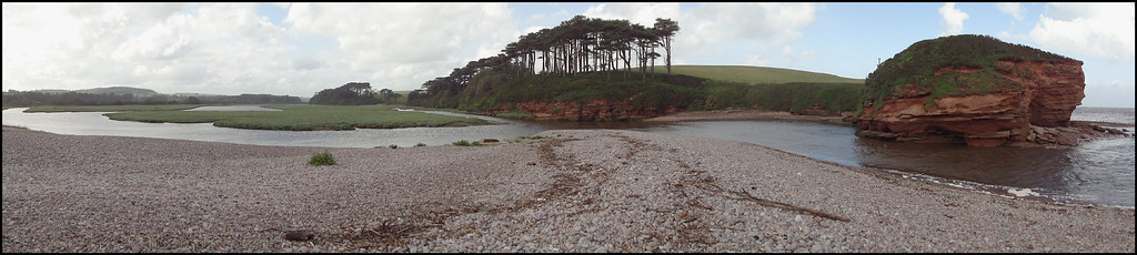 River Otter panorama