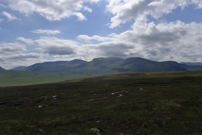 The Gael-Chàrn and Aonach Beag ridge