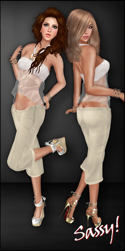 Bliss halter and Soft linen pants - ZP Carnival