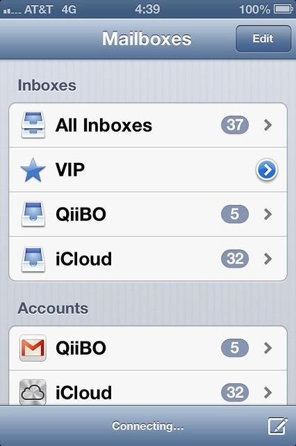 iOS 6 - Mail