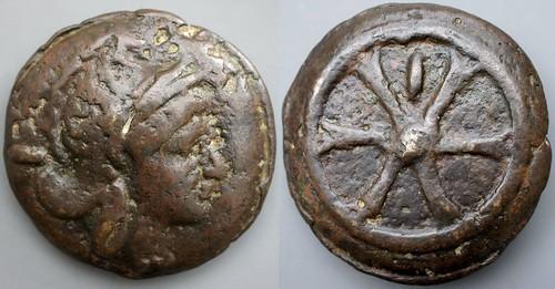24/3 As Roma-Wheel Roma Wheel, value mark inside spokes #1242-242, 61mm 242g