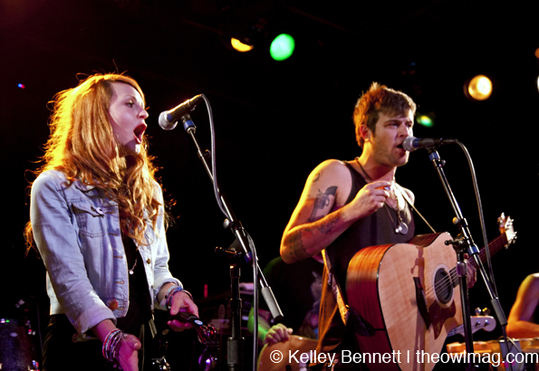 The Mowgli's @ Slim's, SF 6/15/12
