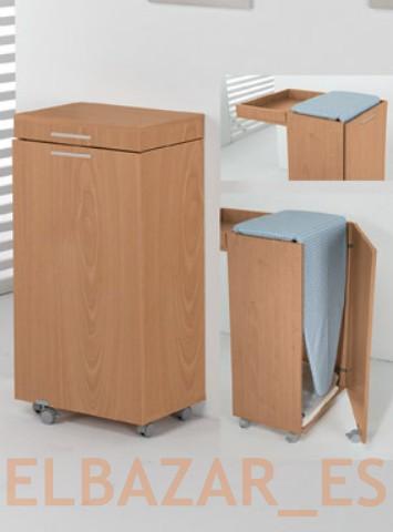 Tabla de planchar mueble plegable para plancha nuevo y - Mueble para guardar tabla de planchar ...
