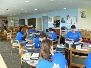 Morgan Stanley Volunteers Cataloguing