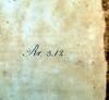 Shelfmark of Richard Mead in Varro, Marcus Terentius: De lingua latina