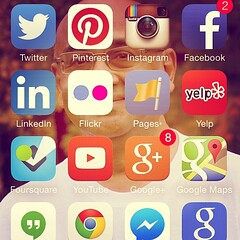 Social media marketing is in my pocket. Which marketing Apps do you use? #socialmediamarketing