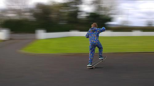 boarding motion blur