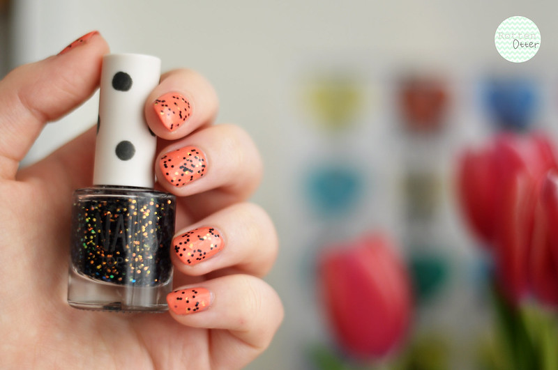 notd barry m gelly papaya topshop mercury rising nail polish rottenotter rotten otter blog