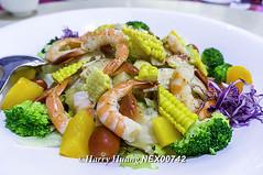 NEX_00742,和風沙拉,海鮮沙拉,沙拉,蝦子,…