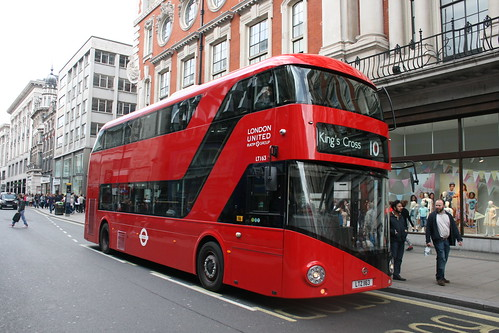 London United LT163 on Route 10, Oxford Street