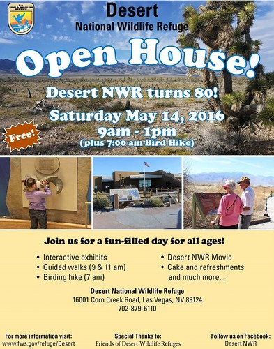 Open House at the Desert National Wildlife Refuge