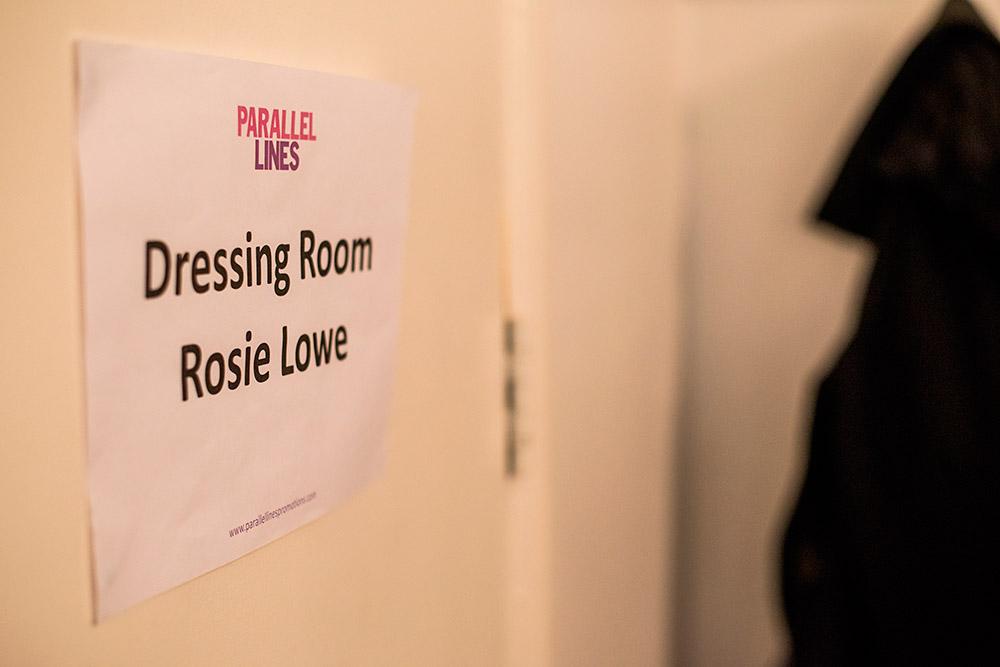 Rosie Lowe BTS