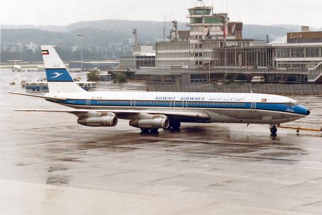 Kuwait Airways Boeing 707-369C 9K-ACM
