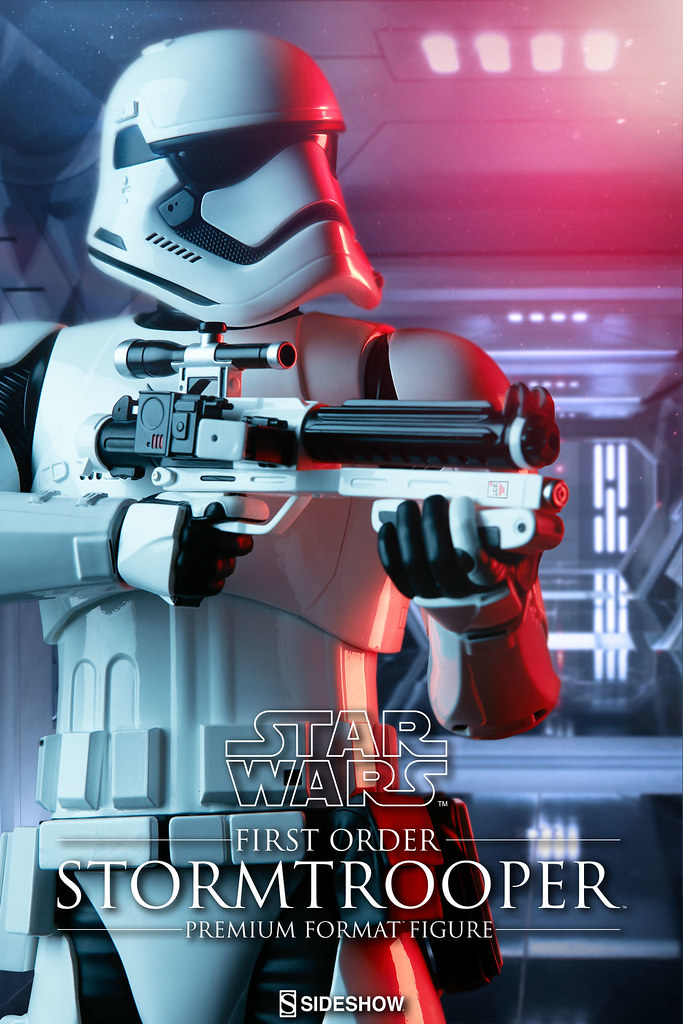 Sideshow Collectibles【第一軍團暴風兵】First Order Stormtrooper 1/4 比例 全身雕像