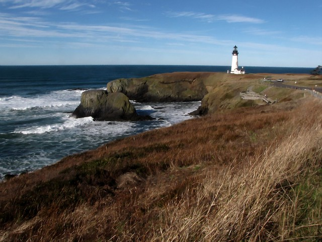 Yaquina Lighthouse Winter