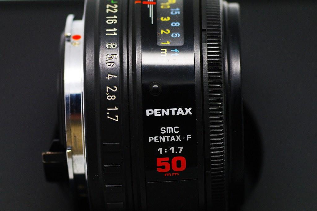 SMC PENTAX-F 1:1.7 50mm