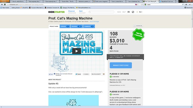 prof. Cat Mazing Machne
