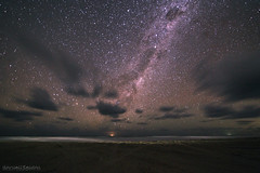 The night sky of Fraser island