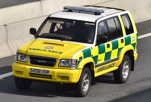 Isuzu Trooper Ambulance