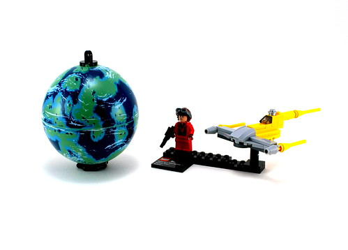 LEGO NEW STAR WARS ROUND GLOBE NABOO EARTH PLANET FROM SET 9674