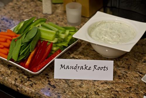 Mandrake Roots