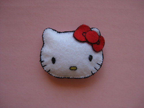 Hello Kitty Brooch by ONE by one
