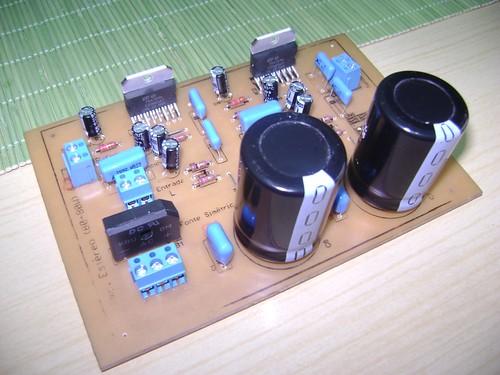 7035199953 93e16a22b0 Circuito de amplificador de potência dinâmico com TDA7294 em ponte tda7294 tda Circuitos Áudio
