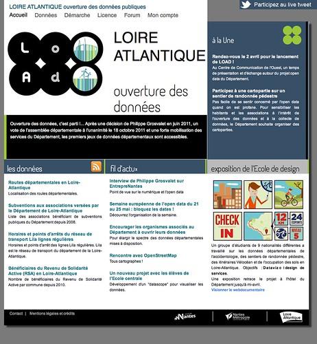 Loire-Atlantique Data Portal
