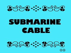 Buzzword Bingo: Submarine Cable