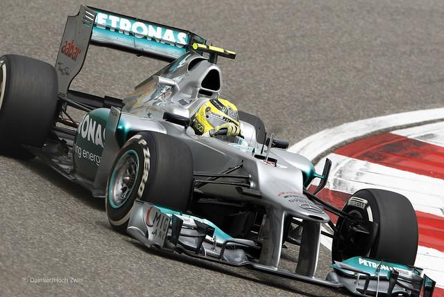Nico Rosberg Mercedes W03 F1 Chinese GP