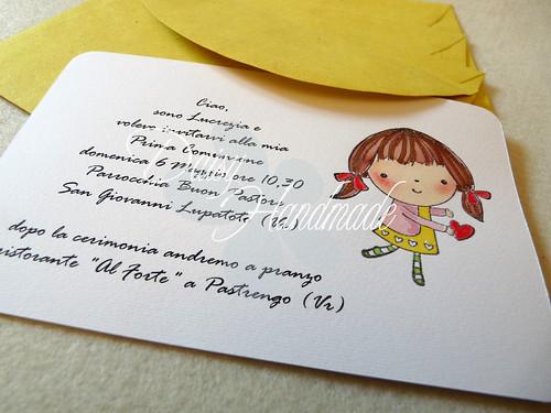 Daisy Handmade Prima Comunione Allegra E Colorata