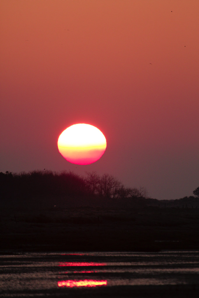 Sunrise over Terschelling
