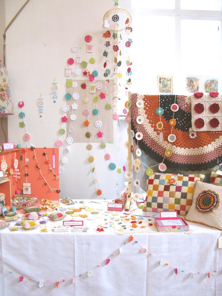 My wee stall at Selina Lake's Homespun Style Book Launch Party & Market | Emma Lamb
