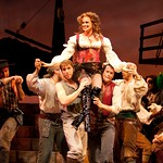Cady Huffman and members of the cast of  PIRATES! (or, GILBERT AND SULLIVAN PLUNDER'D), photo: T. Charles Erickson