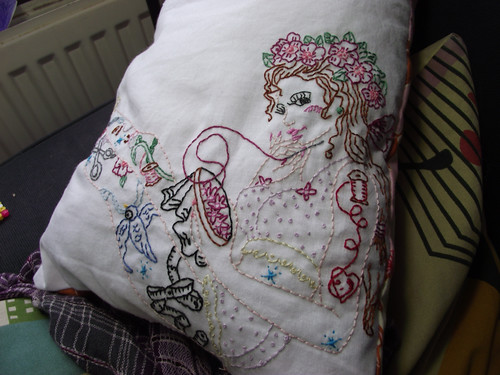 Sewing Sew Lovely Tattoo Lady