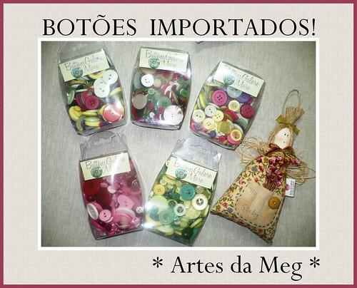 CHEGARAM MAIS BOTÕES! by * Artes da Meg *
