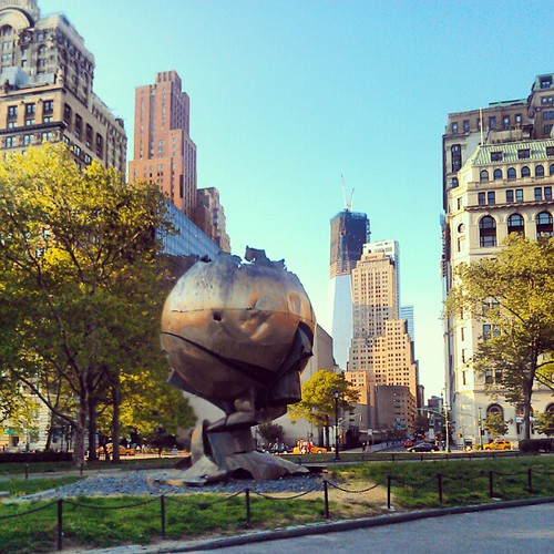 The Sphere and 1WTC