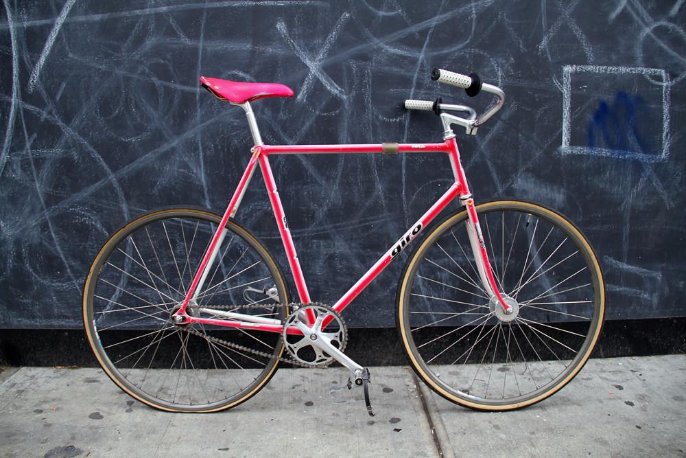 Craigslistvintagebikehunt 58cm Meccanico Giro Njs Track Bike Complete