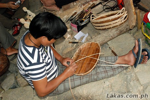 Basket Weaving Of Ifugao : Heritage village and weaving in hungduan ifugao lakas