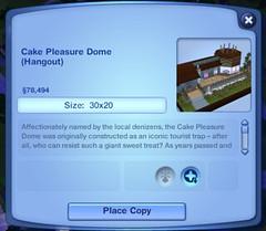 Cake Pleasure Dome