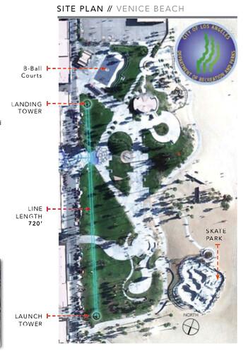 Proposed Venice Beach Zipline