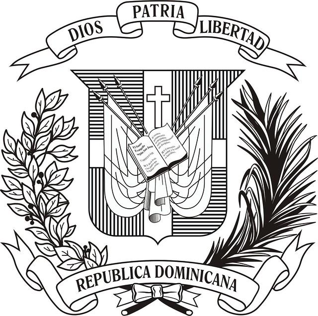 escudo dominicano blanco y negro flickr photo sharing scroll vector free download scroll vector free to download