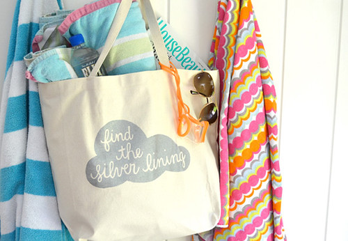 Find the Silver Lining tote