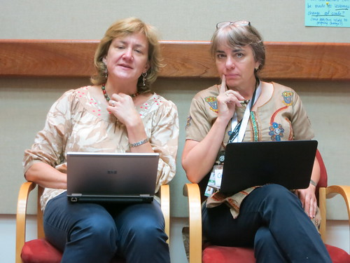 Organizer Polly Ericksen of ILRI and facilitator Constance Neely of ICRAF