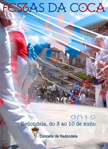 Redondela 2012 - Festas da Coca 2012 - cartel